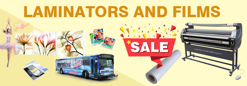 Laminators and Films Sale!
