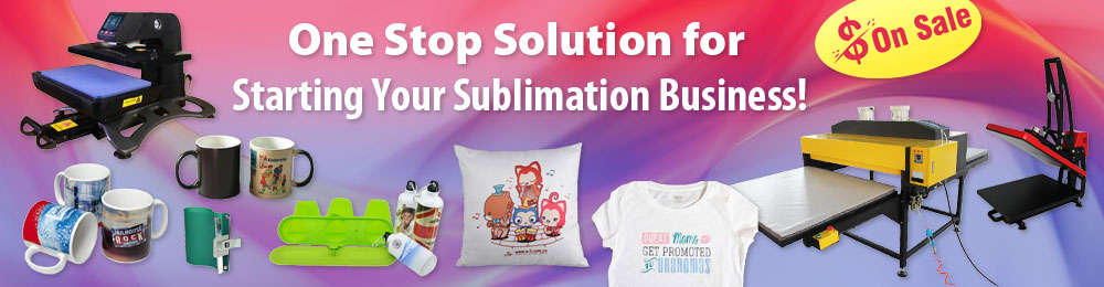 One Stop Solution for Sublimation!