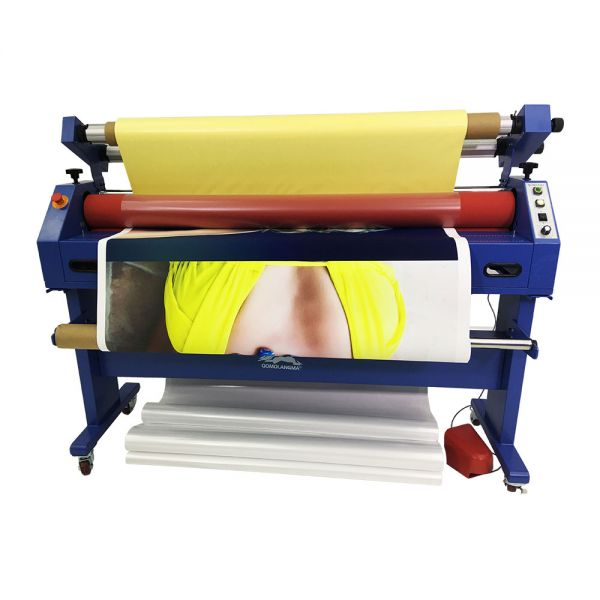 Qomolangma 63in Wide Format Cold Laminator And Mounting