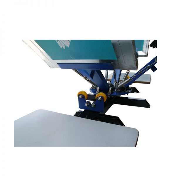 Calca 4 Color 2 Station Silk Screen Printing Machine 4 2