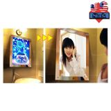 US Stock-6 pcs A2 Size LED Lighting Acrylic Magic Mirror Light Box