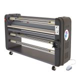 "Ving 63"" High End Single Piece Metal Construction with Entire ABS Tooling Cover Warm Assist Laminator"
