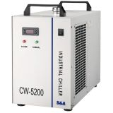 Ving AC 1P 110V 60Hz CW-5200DG Industrial Water Chiller for One 130W or 150W CO2 Glass Laser Tube Cooling, 0.93HP