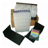 Roland Mimaki Mutoh Bulk Ink System with Vertical Cartridges - 4 Bottles, 8 Cartridges