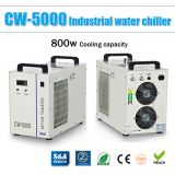 S&A CW-5000DG Industrial Water Chiller (AC 1P 110V 60Hz) for one 80W or 100W CO2 Glass Laser Tube Cooling, 0.41HP