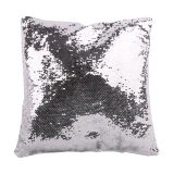 Square Blank Reversible Sequin Magic Swipe Pillow Cover Cushion Case for Sublimation