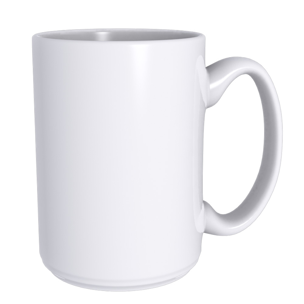 15OZ ORCA Coating Blank White Mugs Grade AA for Sublimation Printing (Local Pick-Up)