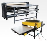 Large Format Heat Presses and Calender