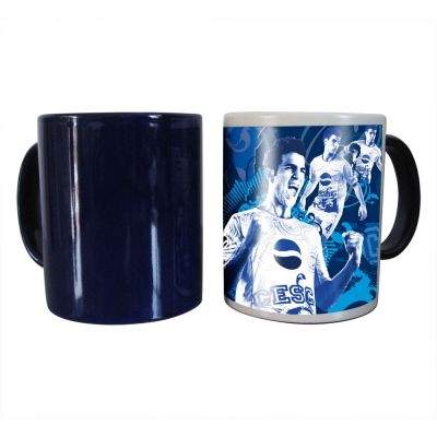 36pcs/ctn First-class 11OZ Blank Sublimation Color Changing Mugs, Magic Cup, Full Color Changing (Black/Glossy)