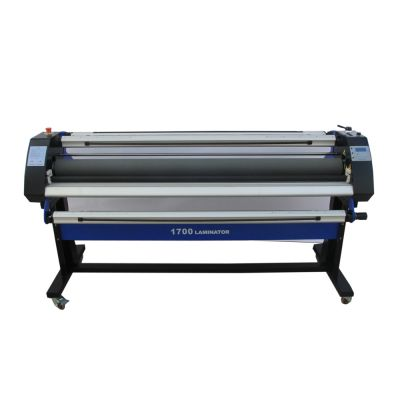 "Ving 67"" Economical Full - auto Wide Format Single-Side Heat-Assist Cold Laminator"