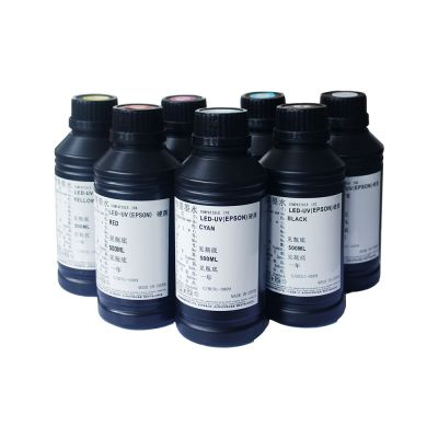 Special Flat Media LED UV Curable Ink (500ml / bottle)