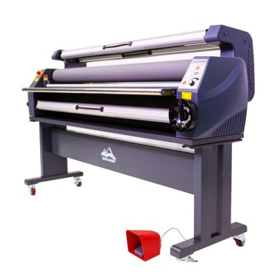 Qomolangma 63in Enhanced Version Heat Assisted Cold Laminator, Wide Format Laminating