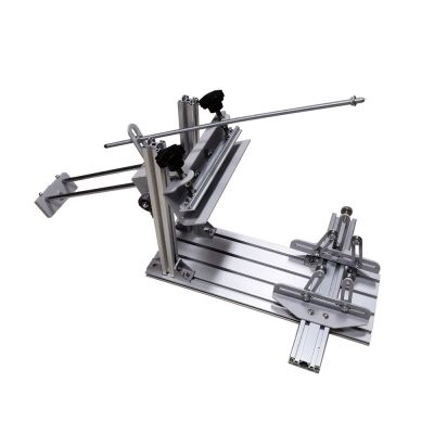 "Manual Cylinder Screen Printing Machine Used Cylinder Screen Printing Machine for Pen / Cup / Mug / Bottle (with 6"" Squeegee)"