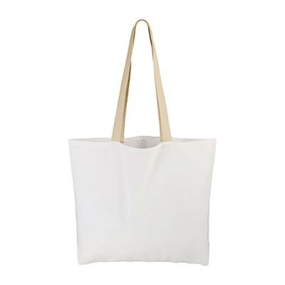 "4PCS 14.8"" x 17"" Canvas Tote Bag White"