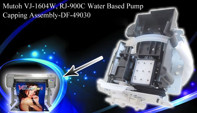 Mutoh VJ-1604W, RJ-900C Water Based Pump Capping Assembly-DF-49030