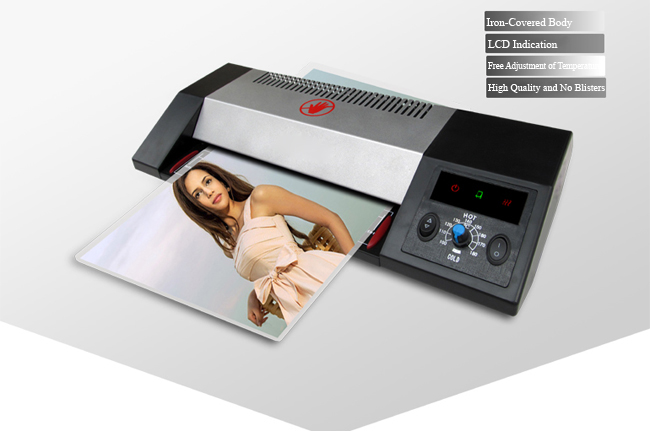 A3 Office Photo Document Iron-Covered Thermal and Cold Pouch Laminator