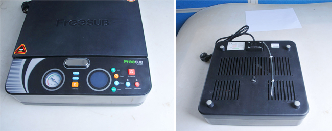 Smallest Lightest 3D Sublimation Vacuum Heat Press Machine Specially for Phone Cases Printing Detail