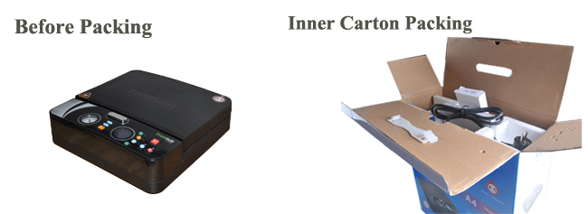 Smallest Lightest 3D Sublimation Vacuum Heat Press Machine Specially for Phone Cases Printing Packing