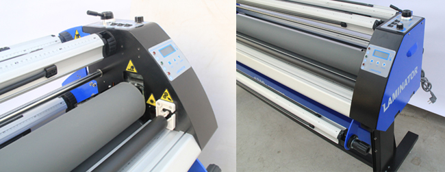 Economical Full - auto Wide Format Single-Side Heat-Assist Cold Laminator
