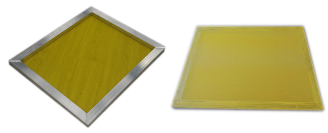 Aluminum Silk Screen Frame